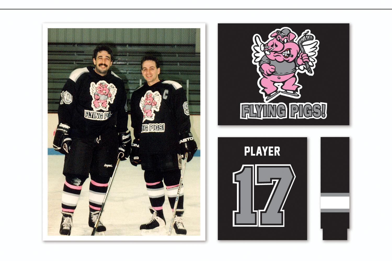 Logo Design and Uniform Production,   New England Regional Hockey League