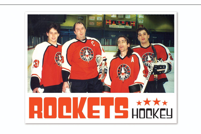 Logo Design and Promotional Materials,   New England Regional Hockey League