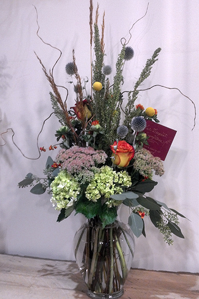 Order a Fresh or Dried Arrangement - Pay by Phone or Pick-up
