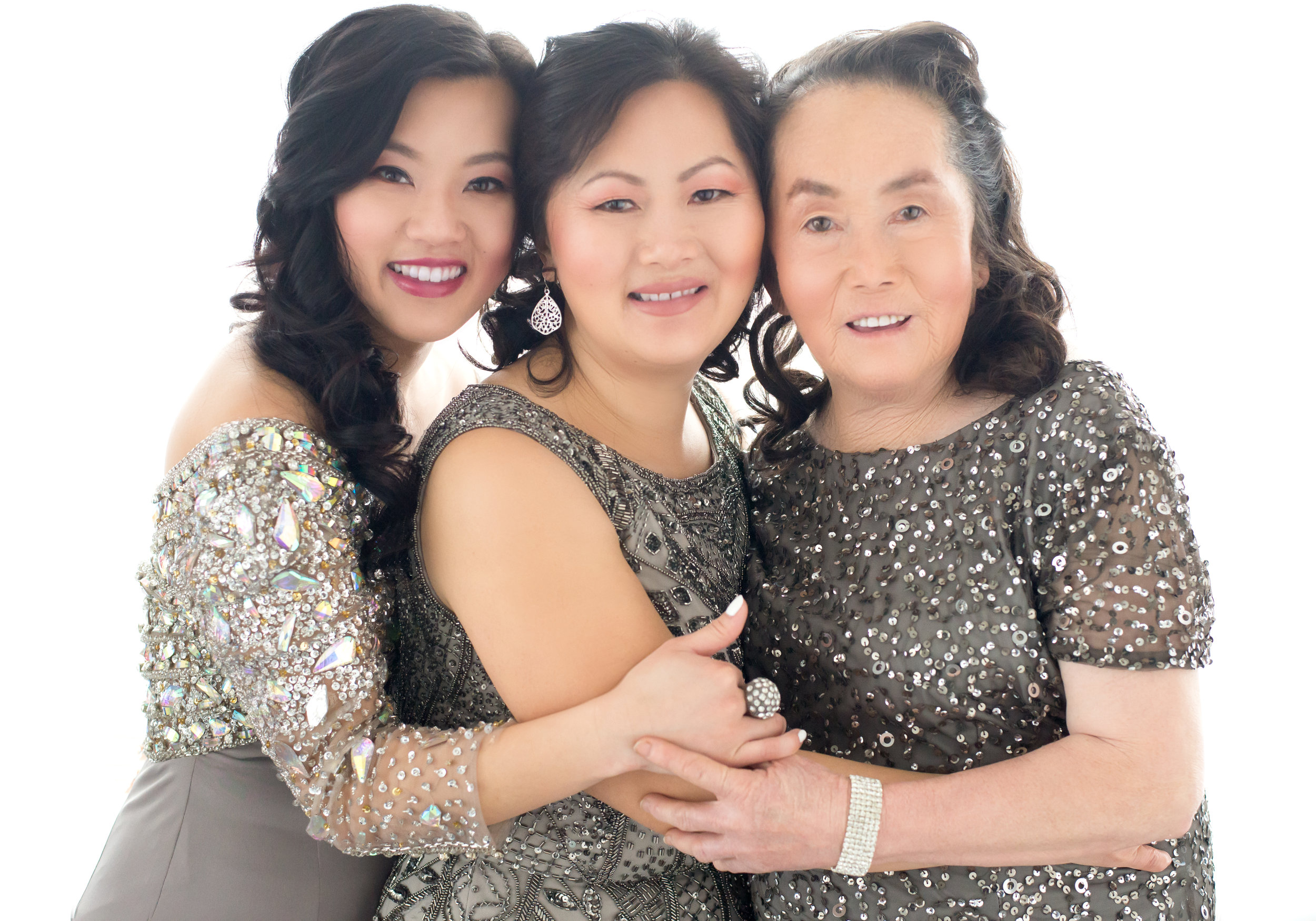 From March-The Gorgeous Thao Family. My first three generation photo shoot!