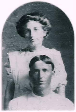 This is my great great grandfather Andrew Patrick and his wife, my great great grandmother Nona Patrick.