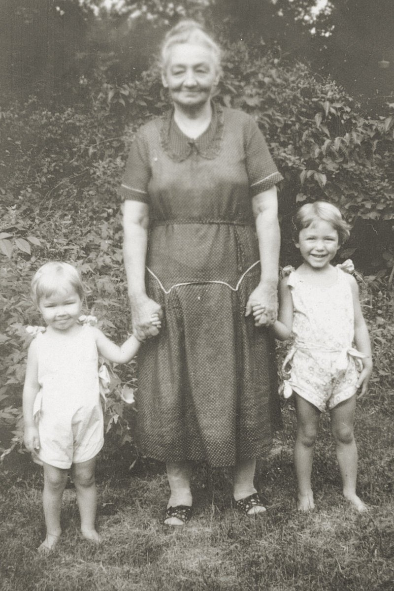 My grandmother, Micky is on the left. ;) I seriously see so much of myself and children in her!
