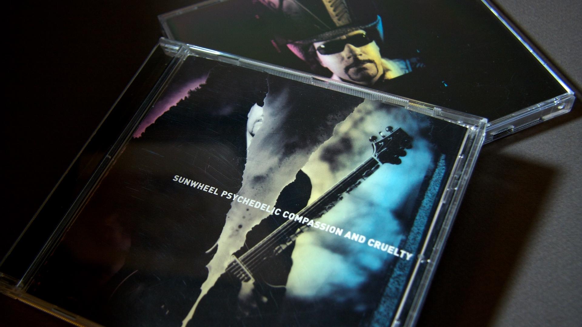 Sunwheel Psychedelic Album Packaging