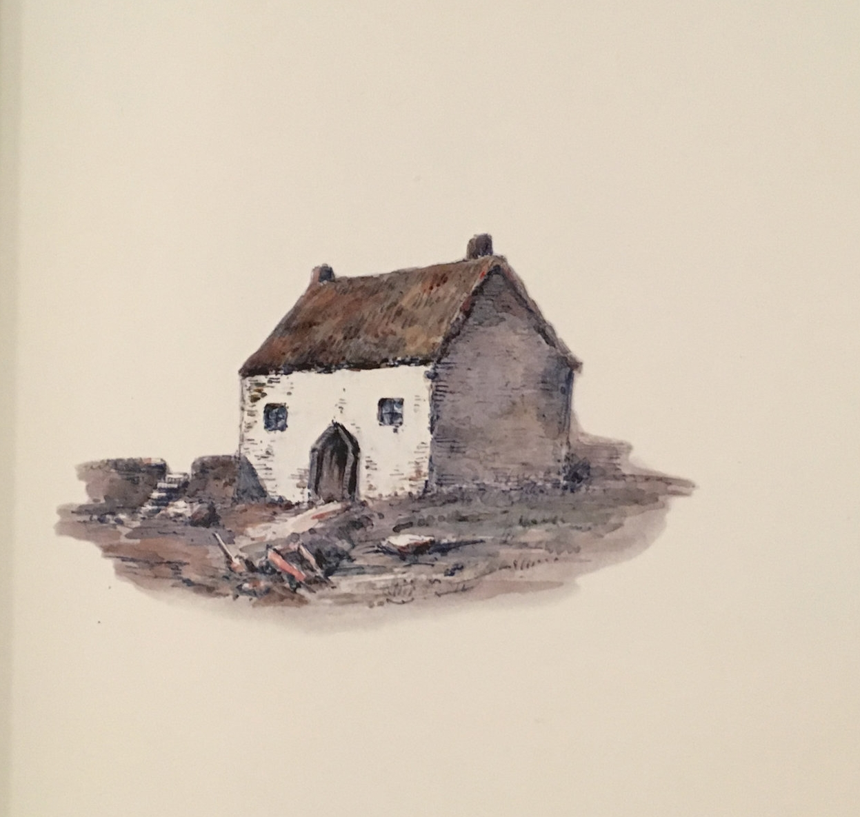 Pictured: Stella's Cottage, from   Views of the Haunts and Homes of the British Poet    s   (Un-Gyve Press)