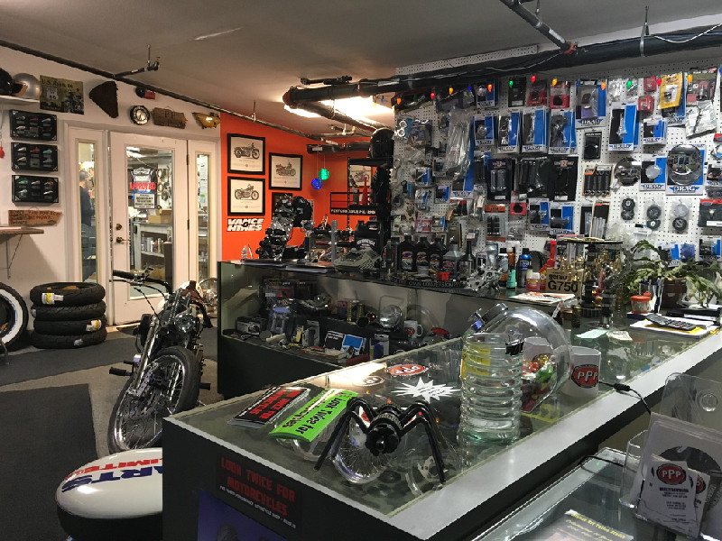PRO POWER PERFORMANCE MOTORCYCLE SHOP - SHOWROOM