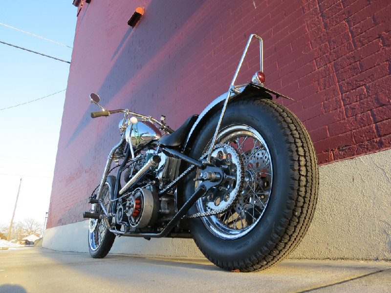 1951 PANHEAD CHOPPER BY TODD APPLE