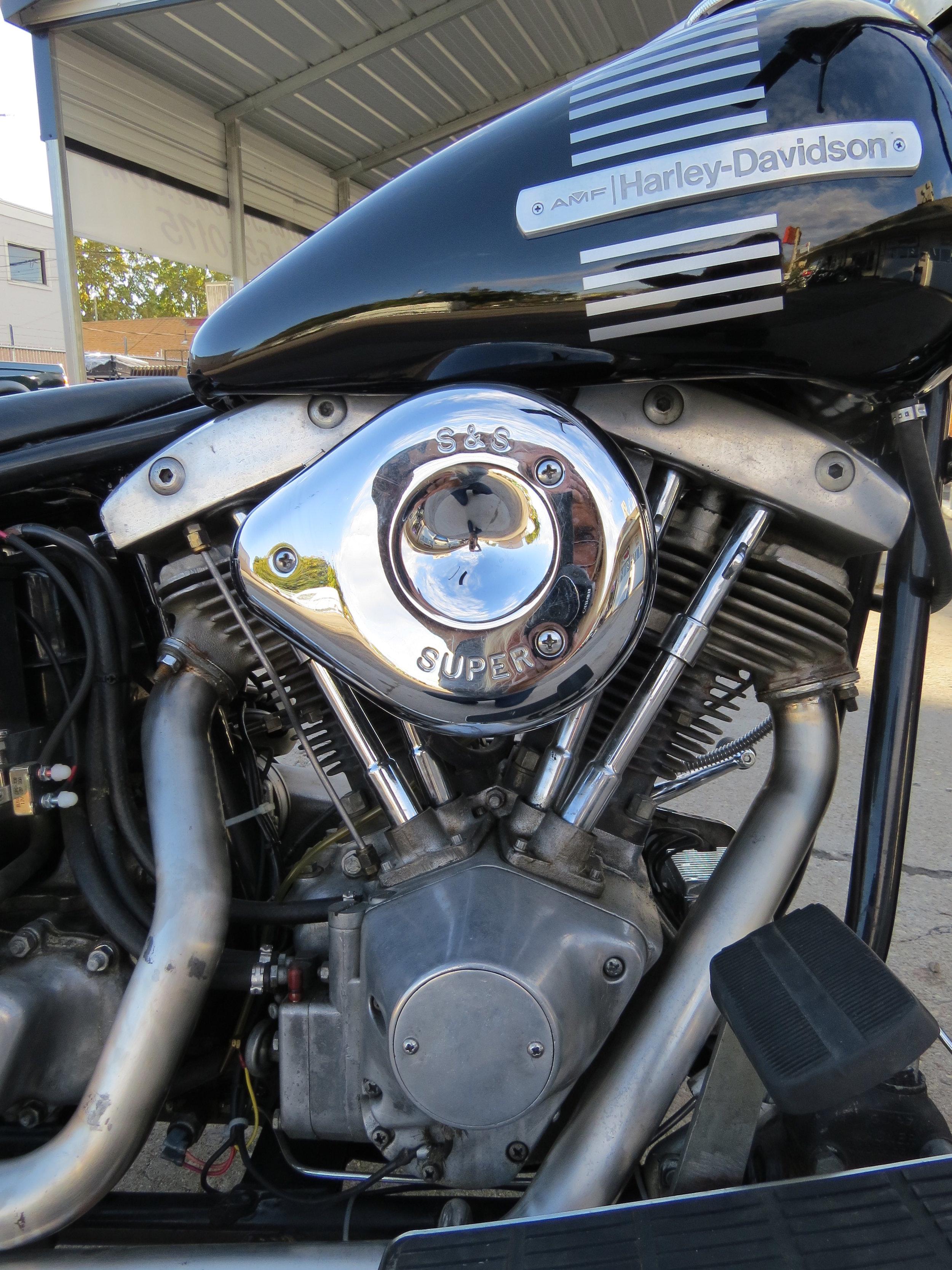 1977 SUPER FINE SHOVELHEAD MOTOR