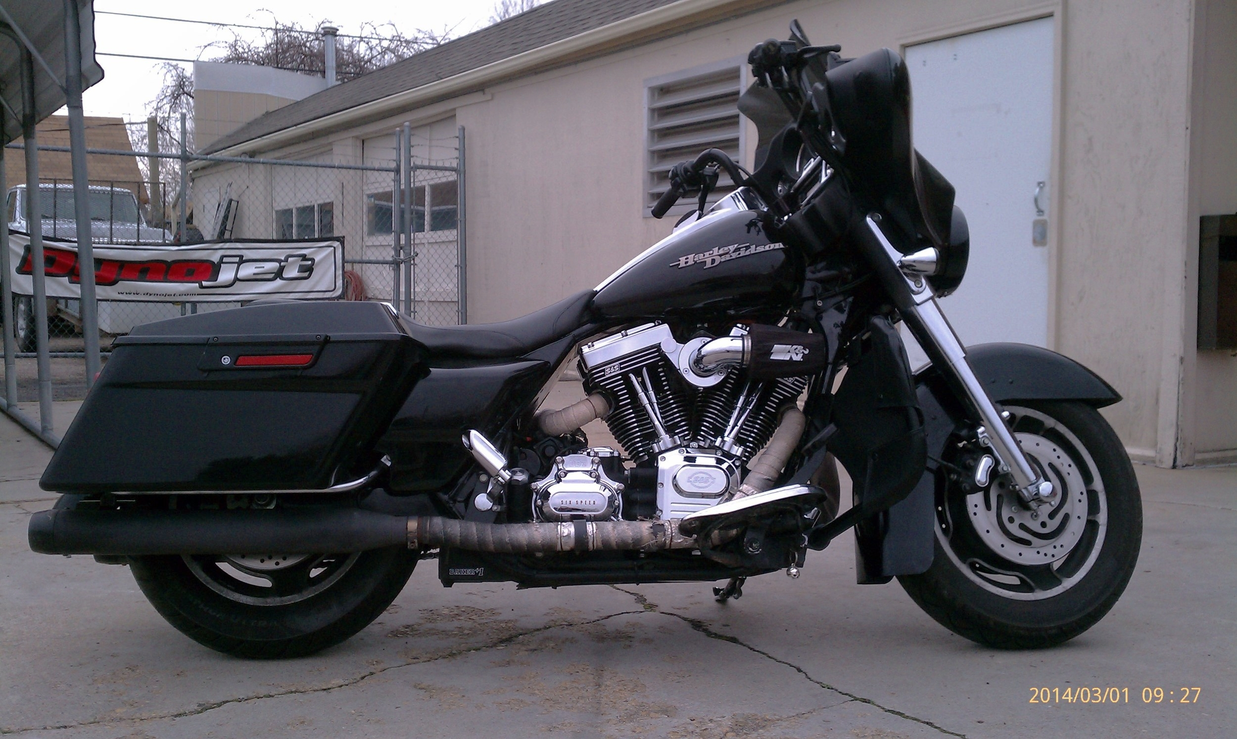 2007 HARLEY DAVIDSON FLHX WITH SS 111 MOTOR AND A BAKER 7 SPEED TRANSMISSION...YUP.  WE SAID SEVEN SPEED.