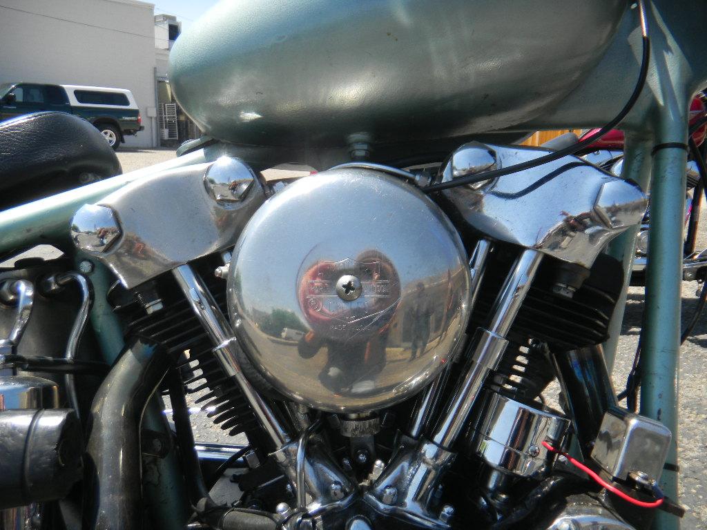 1941 HARLEY KNUCKLEHEAD MOTOR