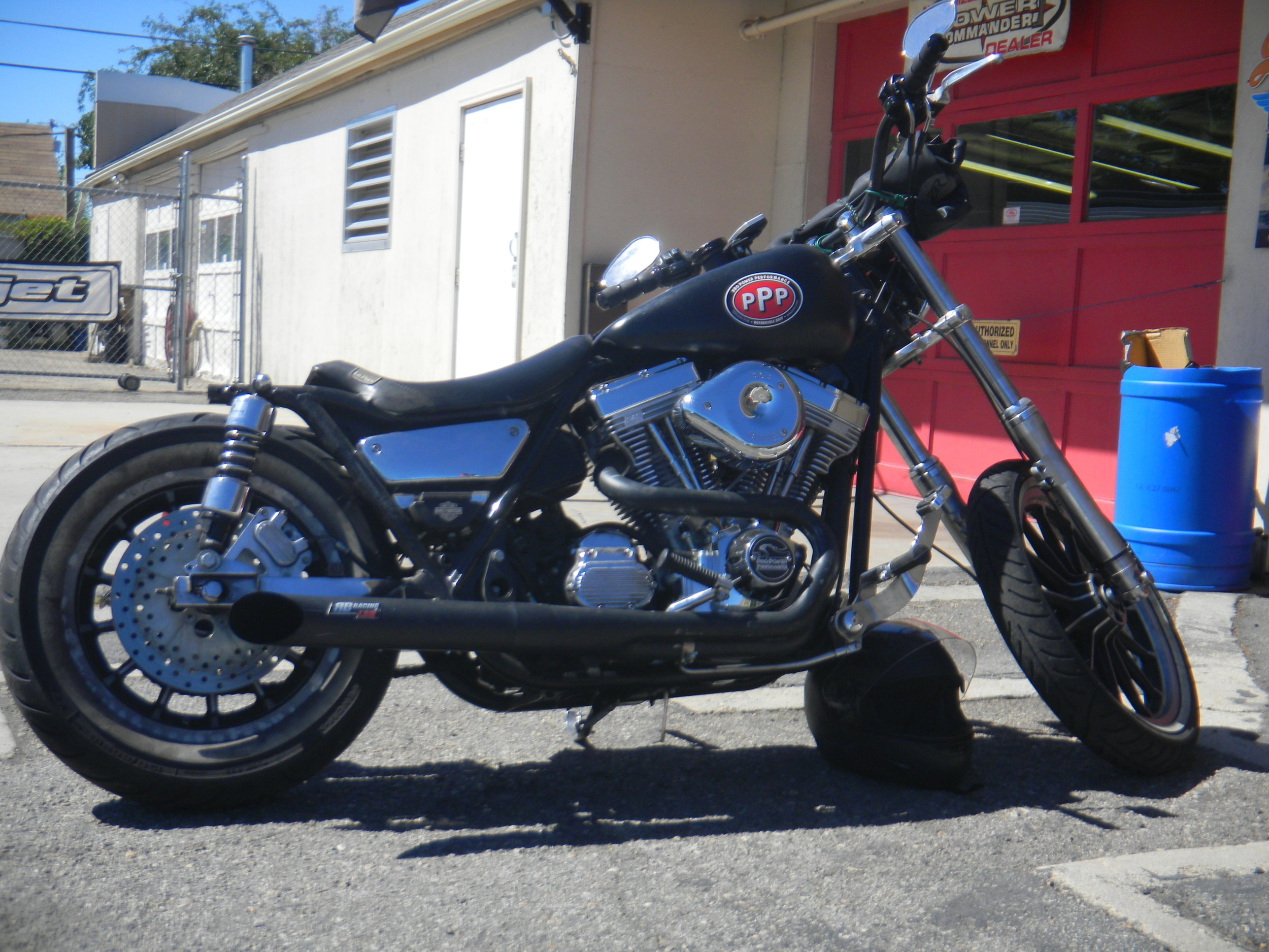 SEAN'S 1986 HARLEY FXR WITH AN SS 124 MOTOR
