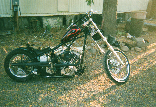 RIGID FRAME CHOPPER WITH SS 96 MOTOR
