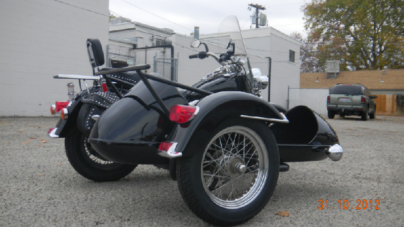 1996 HARLEY SOFTAIL WITH SIDECAR - MODIFIED!