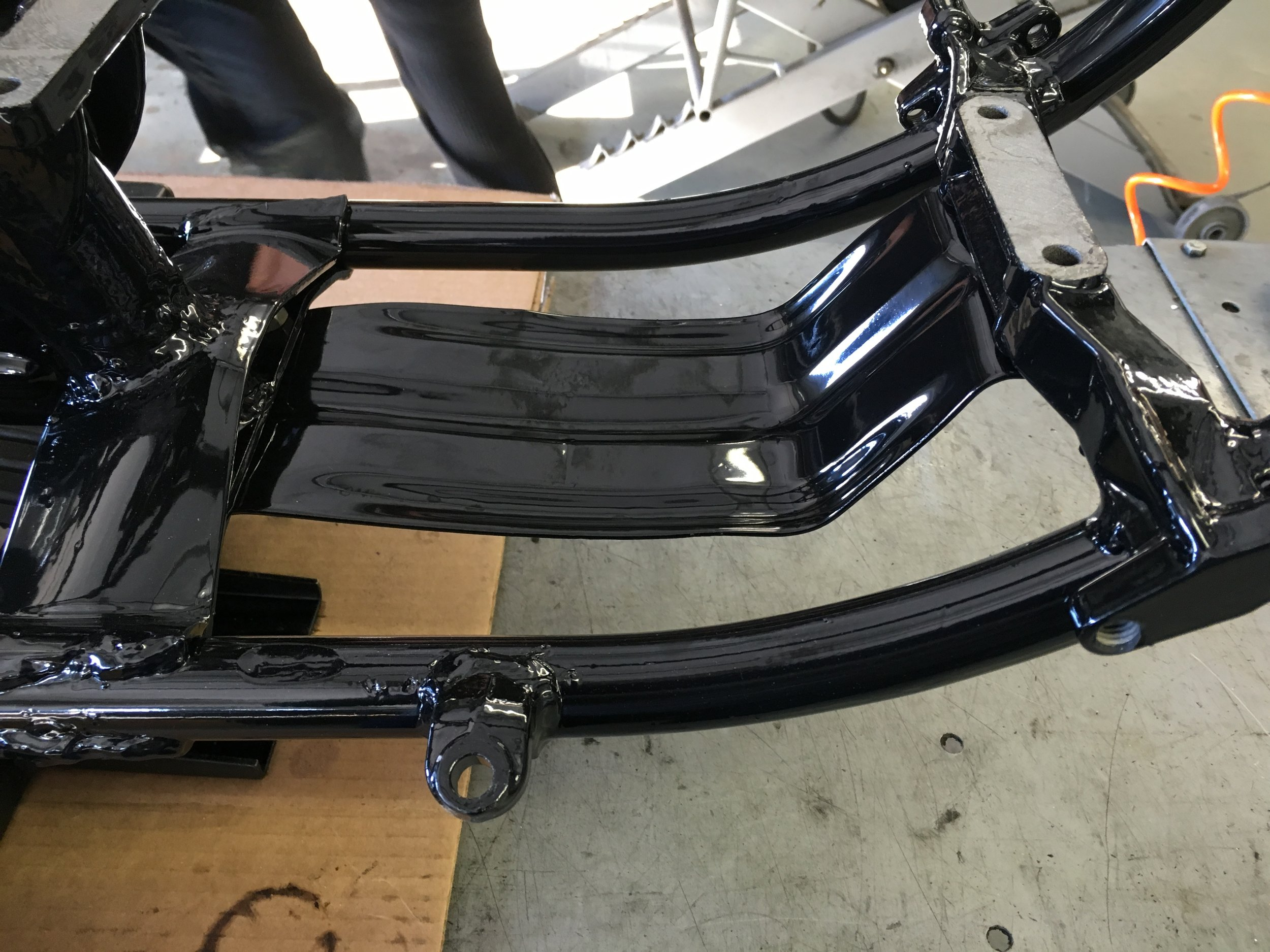 SWEET (AND CLEAN!) SKID PLATE - POWDER COATING BY WESTERN SANDBLASTING