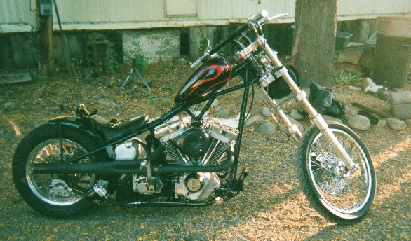 CUSTOM CHOPPER WITH SS 96 MOTOR