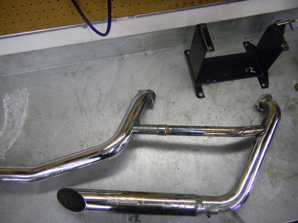EXHAUST MODS - WORKING WITH WHAT WE HAVE