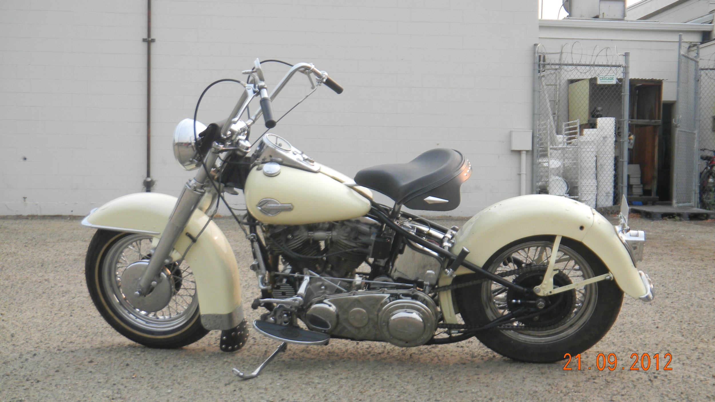 1951 HARLEY PANHEAD - AFTER RESTORATION