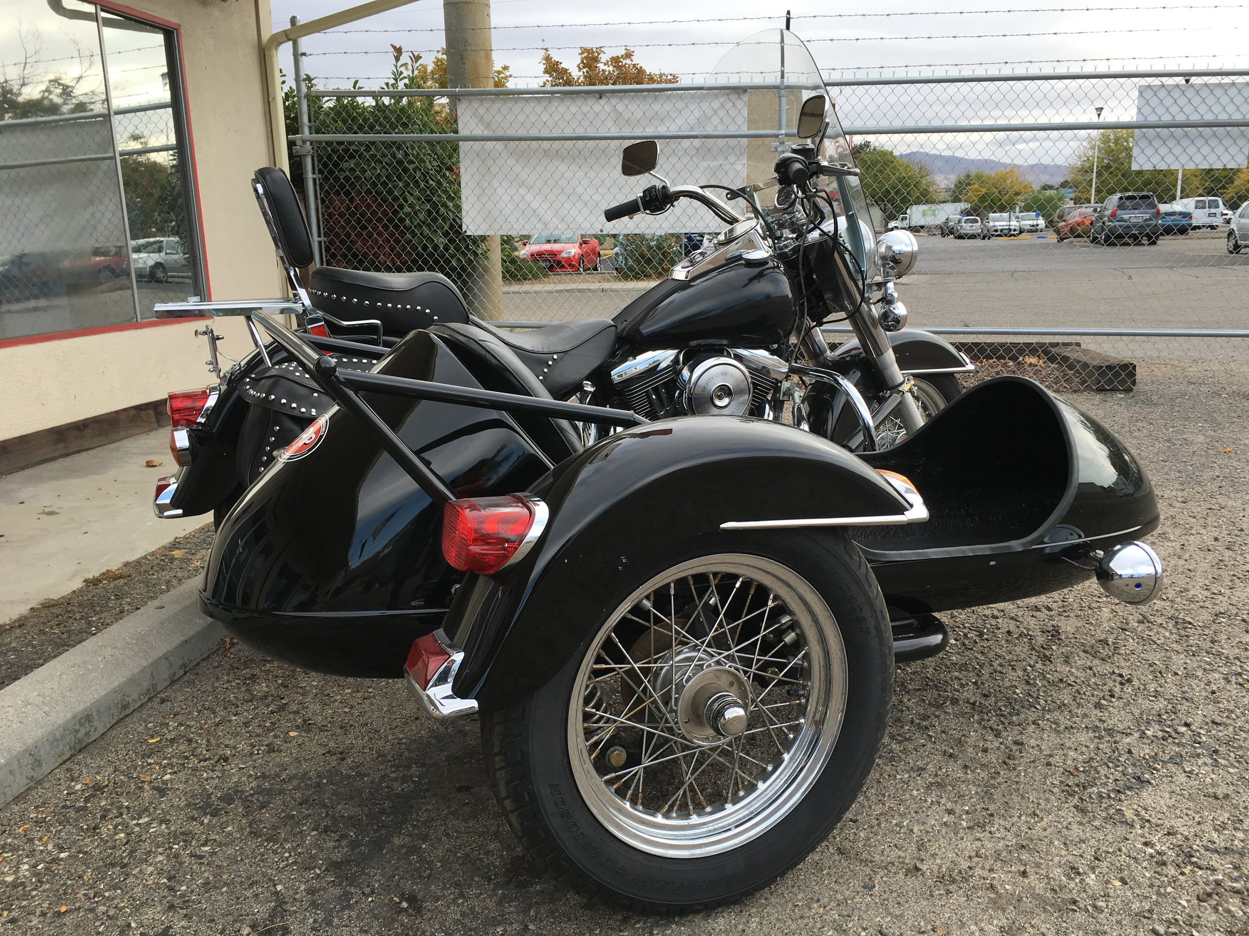 1996 HARLEY HERITAGE SOFTAIL WITH SIDECAR FOR SALE