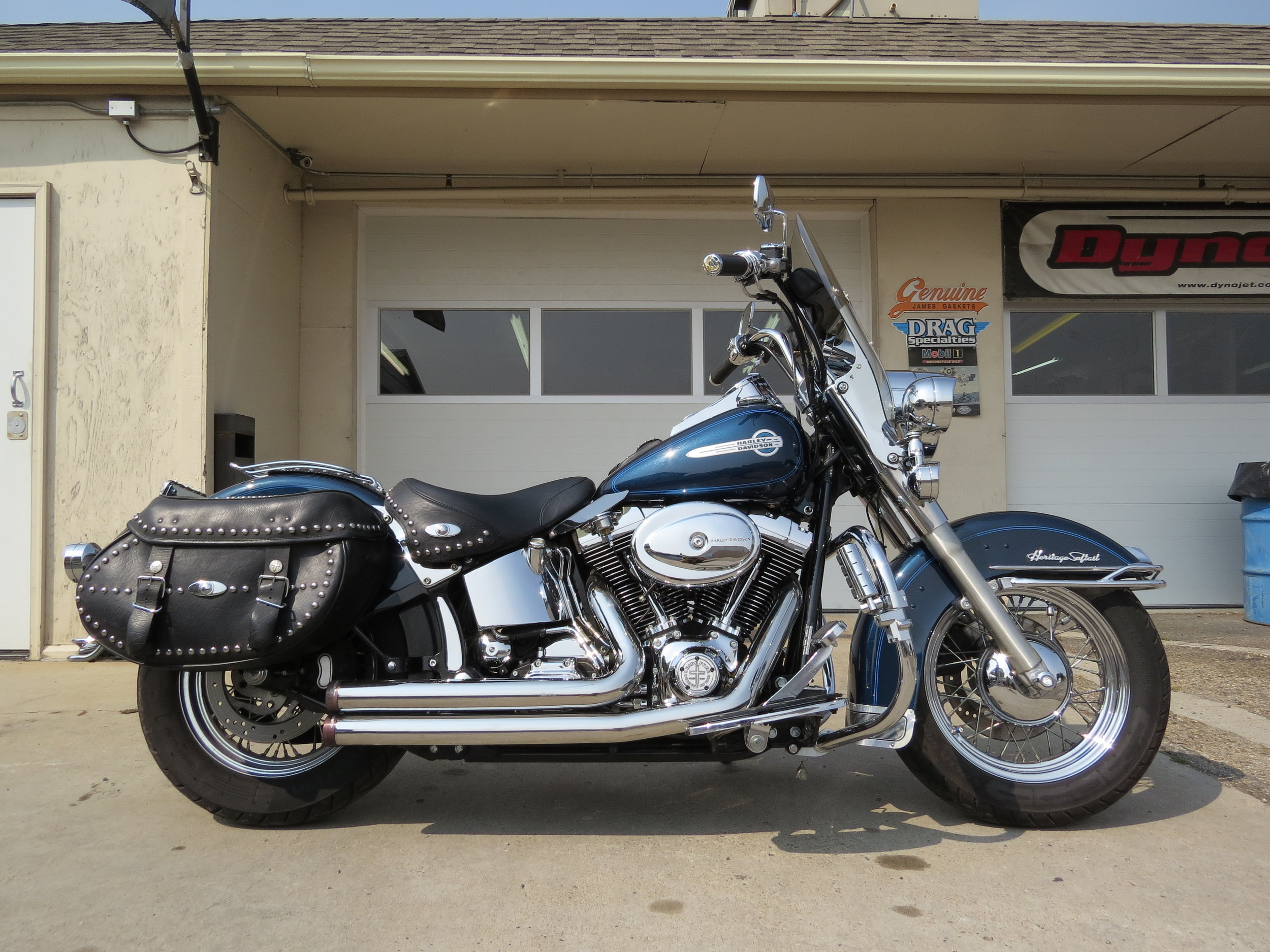 Pat's 2002 Softail