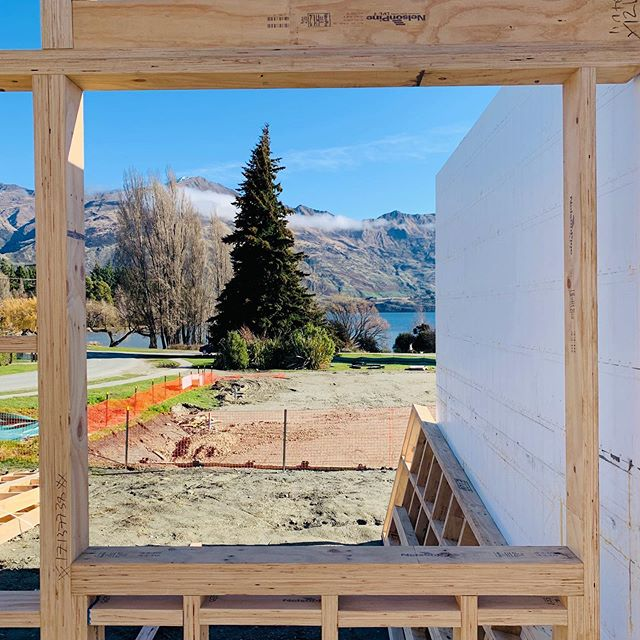Nice little view framed by the kitchen window  #architecture #newzealandarchitecture #australianarchitecture #wanaka #archilovers #archdaily #sydneyarchitecture #wanakaarchitecture