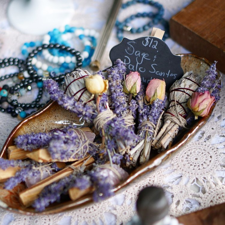 Natural Healing Cleansing Photography Orangeville Amethyst Sage