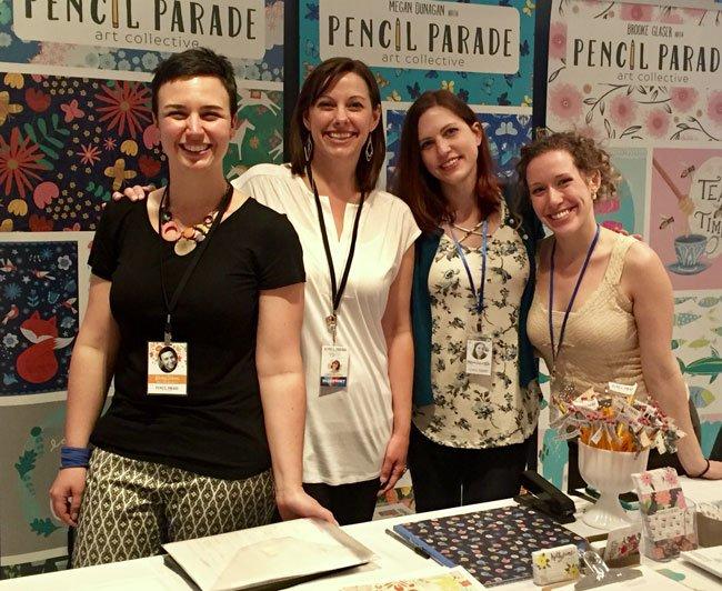 The  Pencil Parade  Collective!