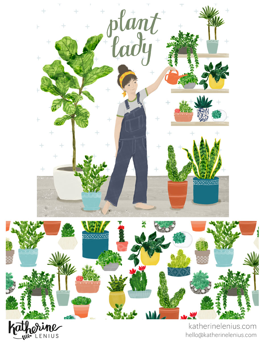 Plant Lady | Katherine Lenius