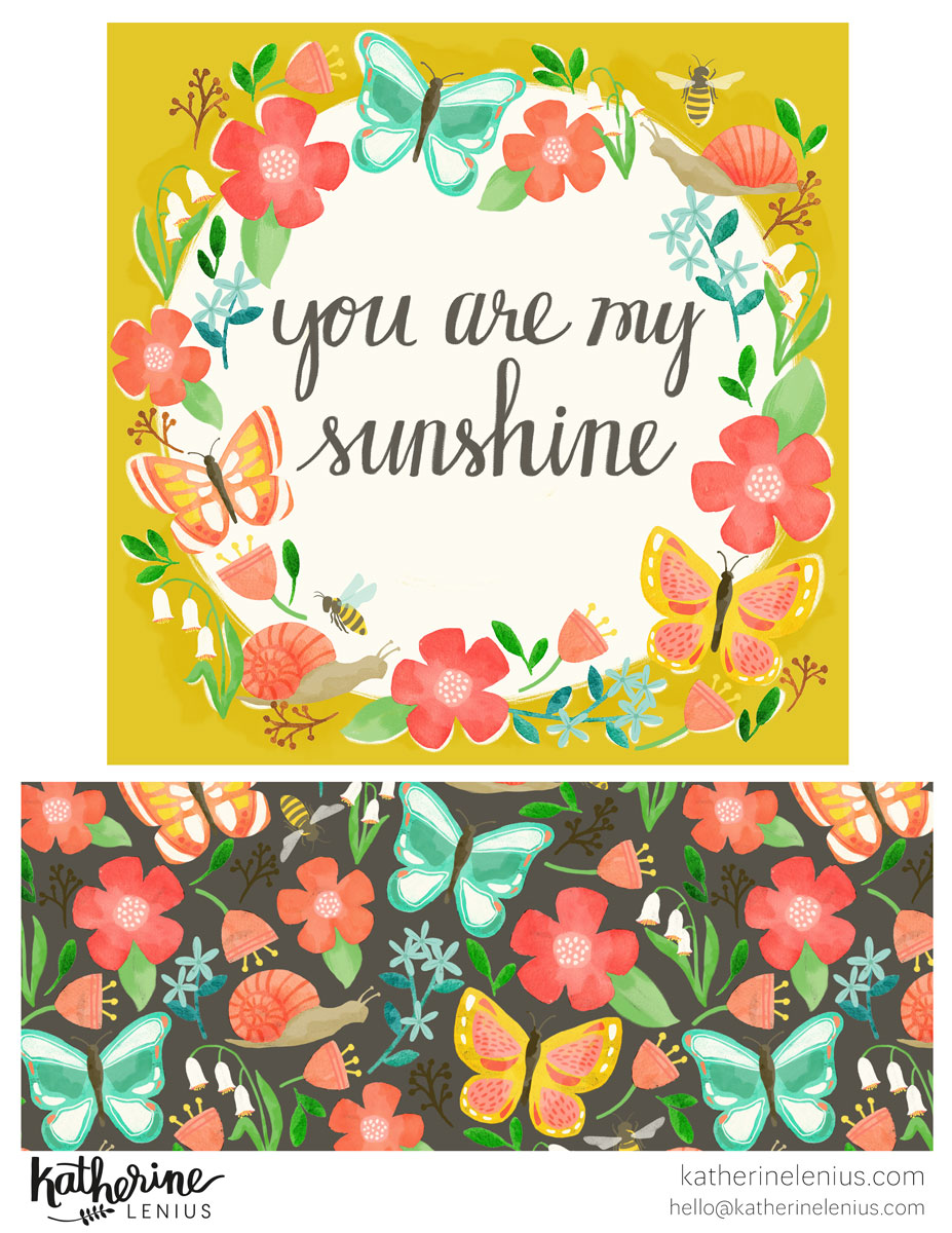 You Are My Sunshine | Katherine Lenius