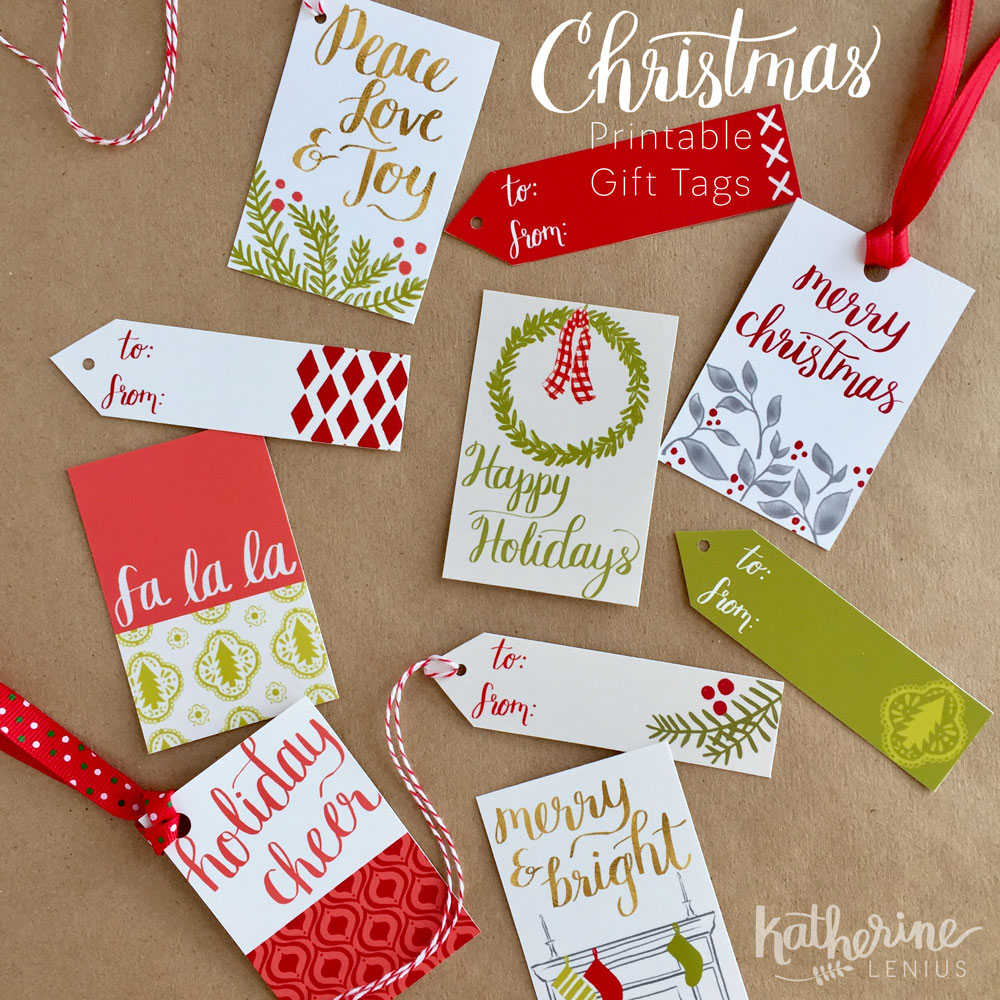 Christmas Gift Tags available to  Yellow House Post  subscribers.  Contact me  to get yours!