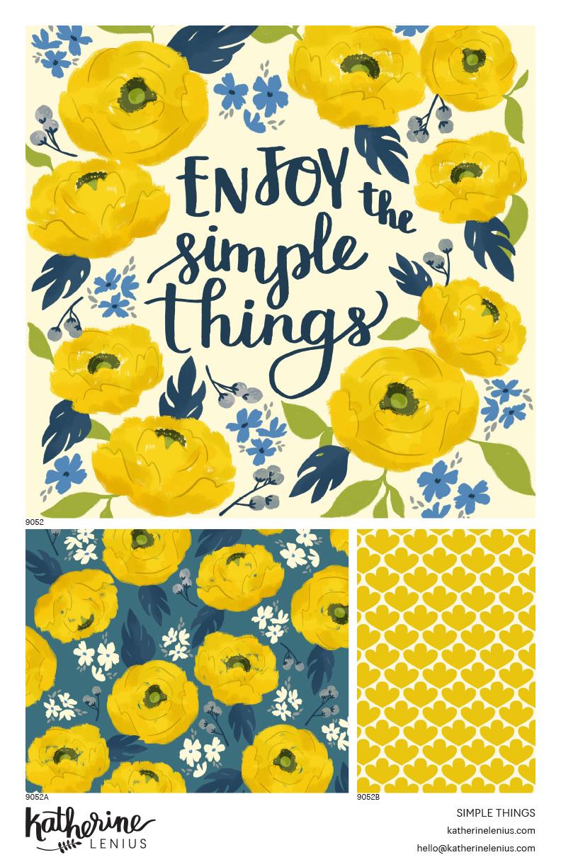 #9052 Simple Things