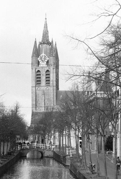 Oude Kerk, Delft, Nederland