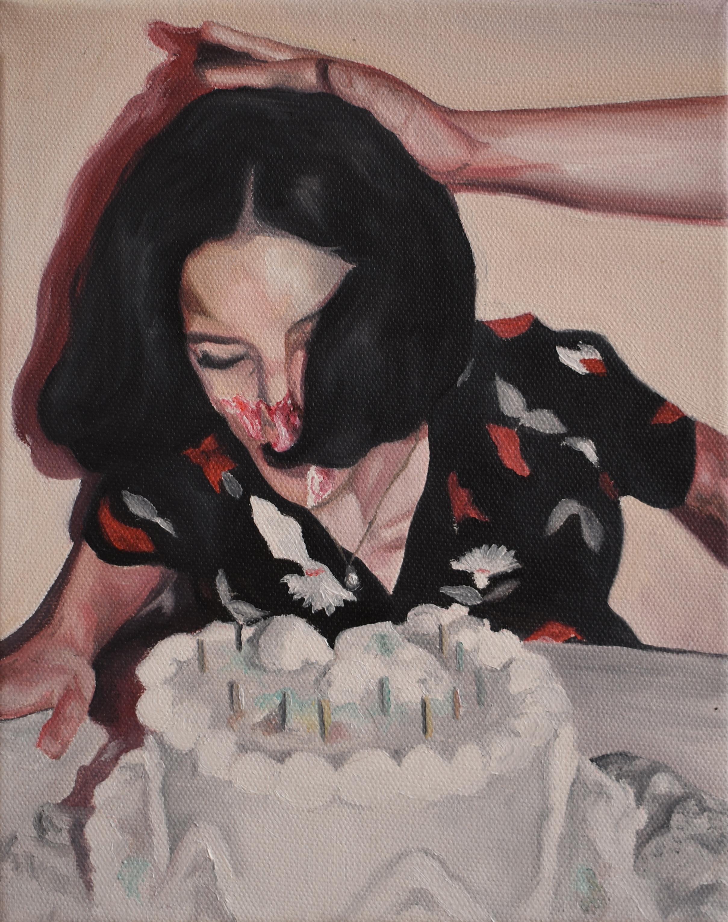 Diecisiete años   Oleo sobre canvas, 20x25cm 2017