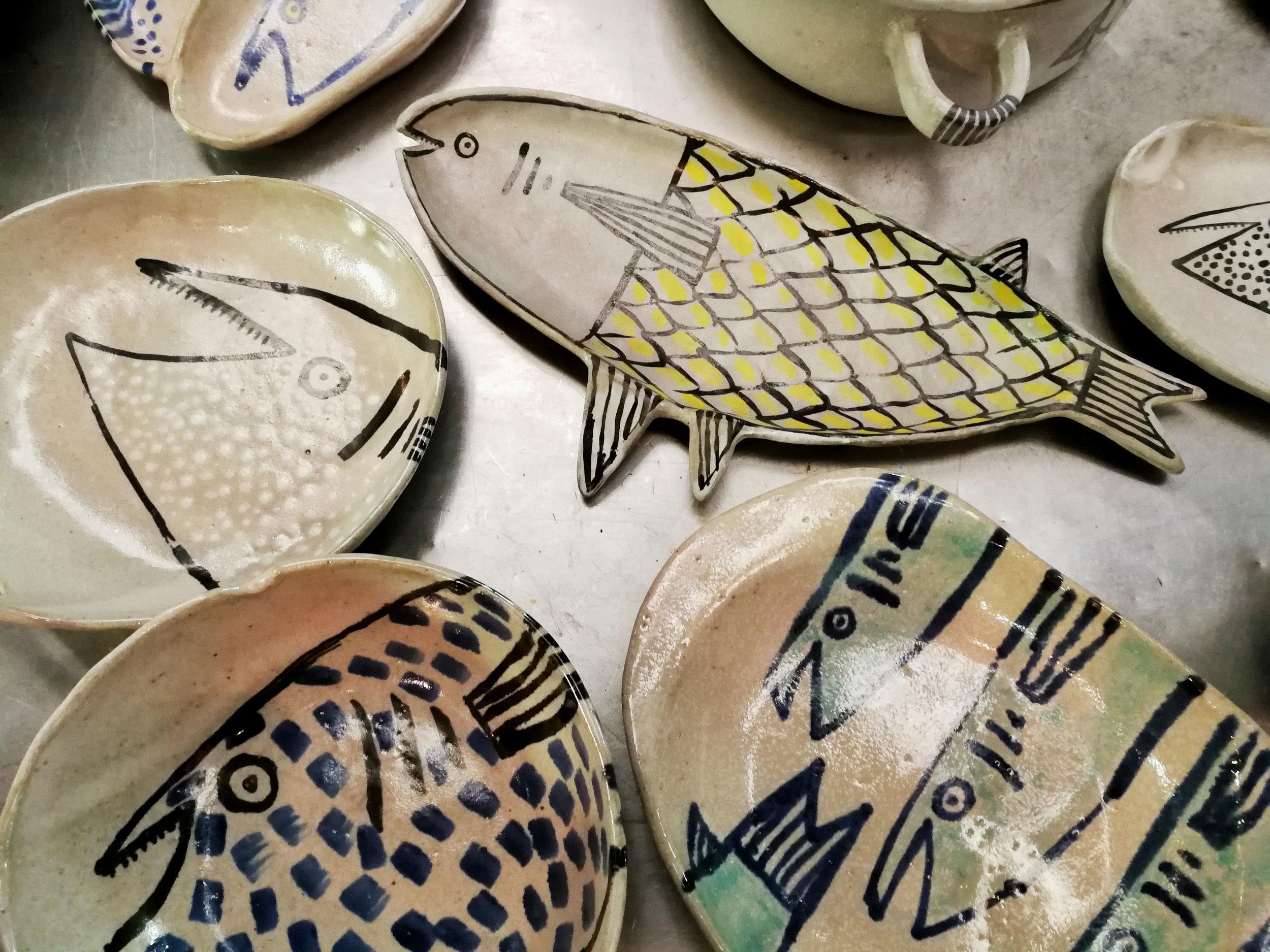 algunas de las joyitas que tiene pez cocinado este finde (30/11-2/12) en feria hecho aquí, en la antigua aduana, san josé.