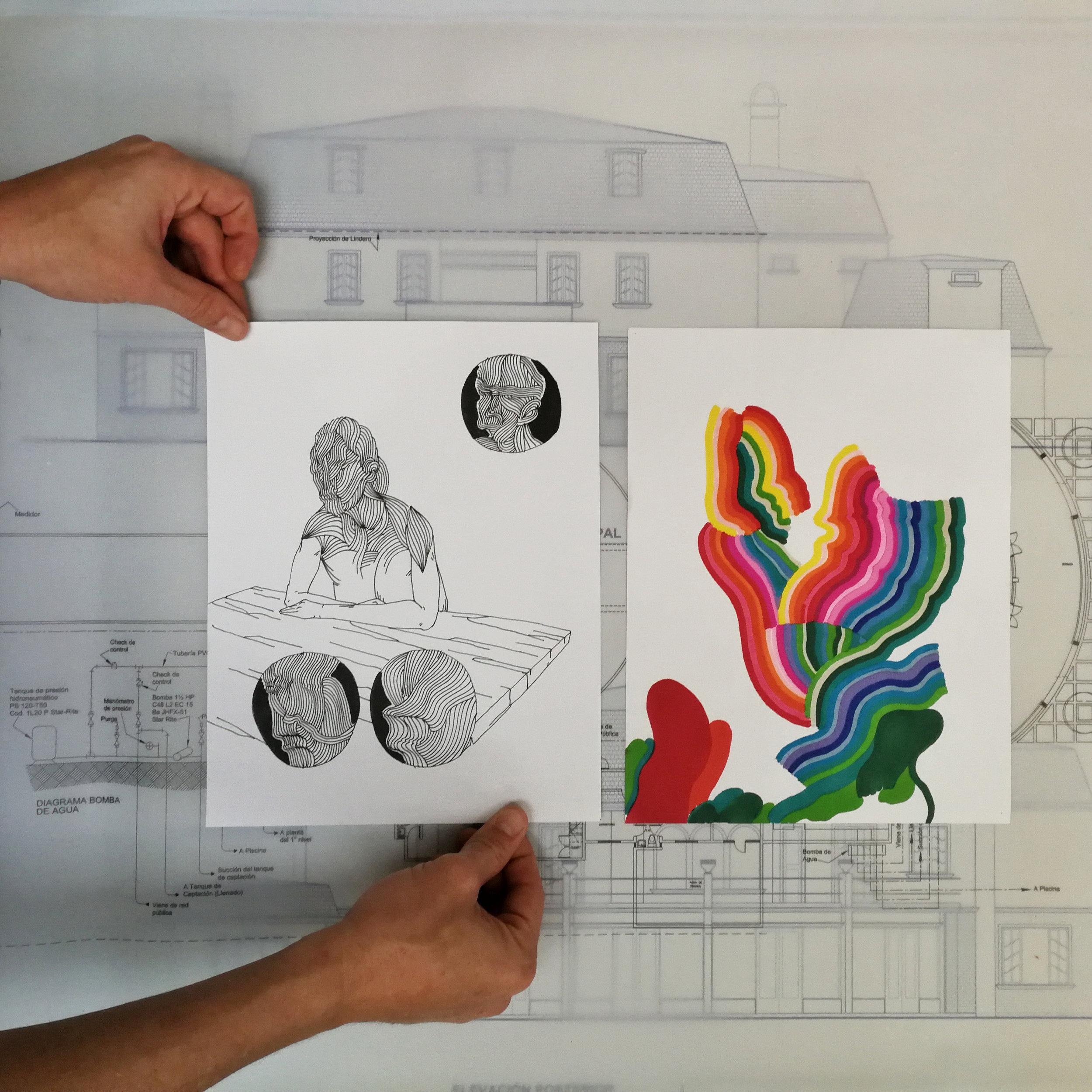 dibujos por fabián monge | precio: $50-$100