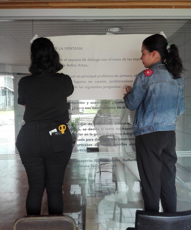 montaje de romper la ventana   imagen cortesía de    mariela álvarez
