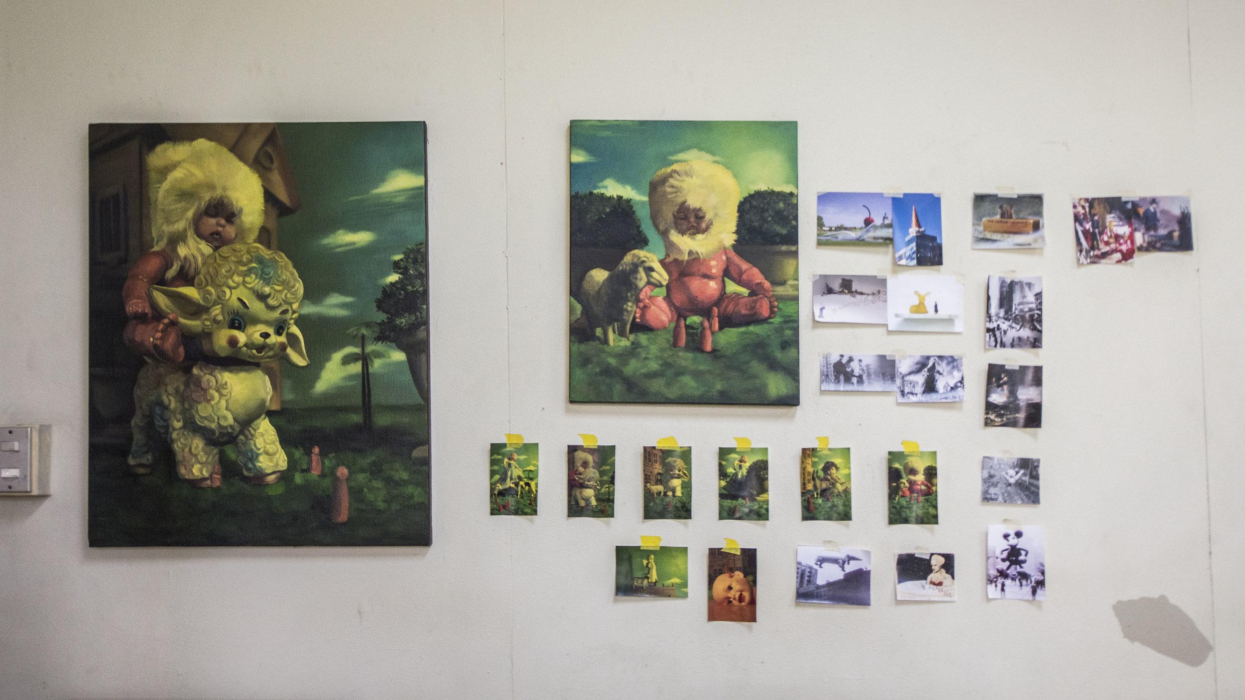 espacio de trabajo de    luis jose villalobos      imagen cortesía de    adriana araya