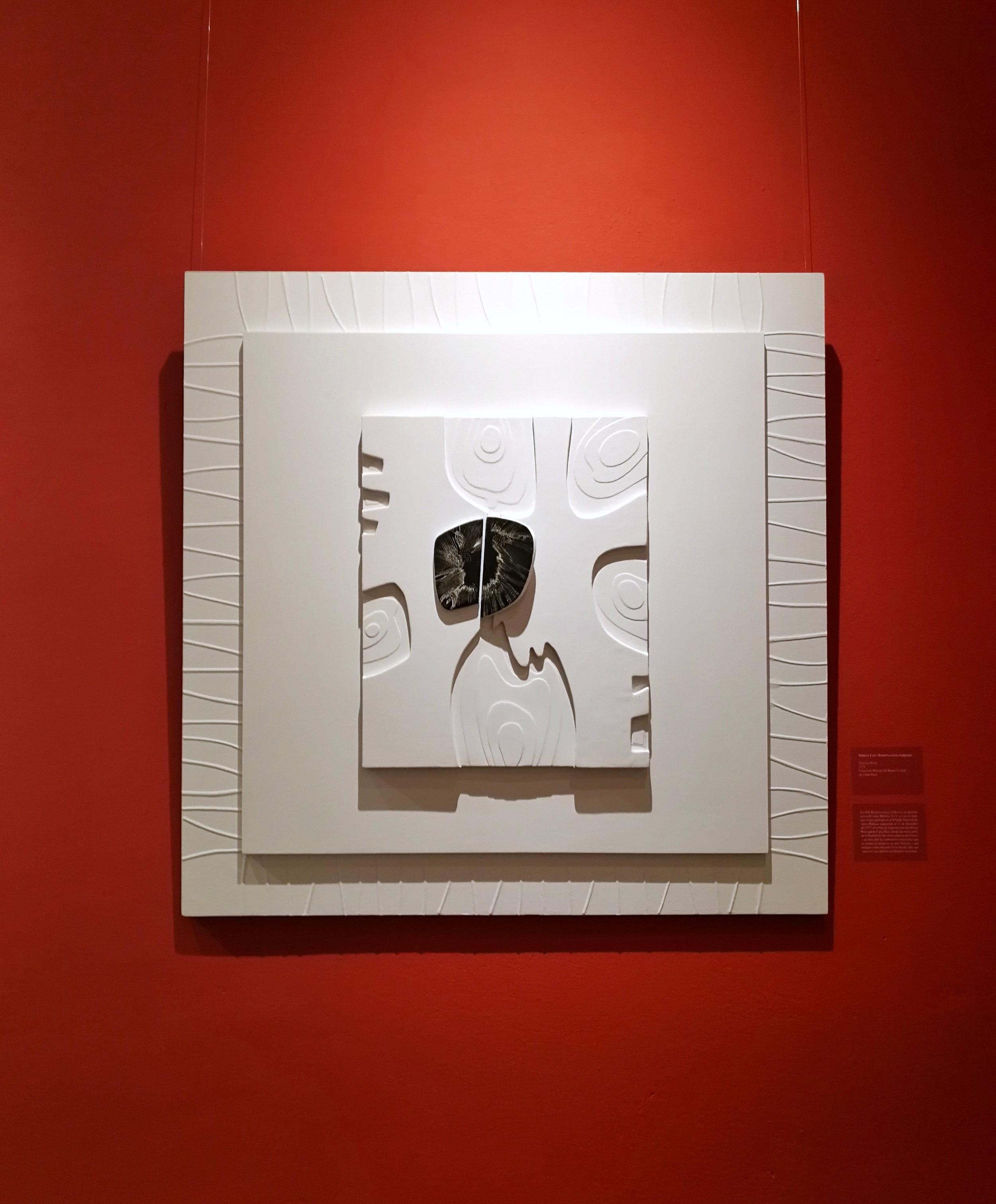 obra de lola fernández, imagen tomada durante la exposición de lola fernández en el MAC, 2018