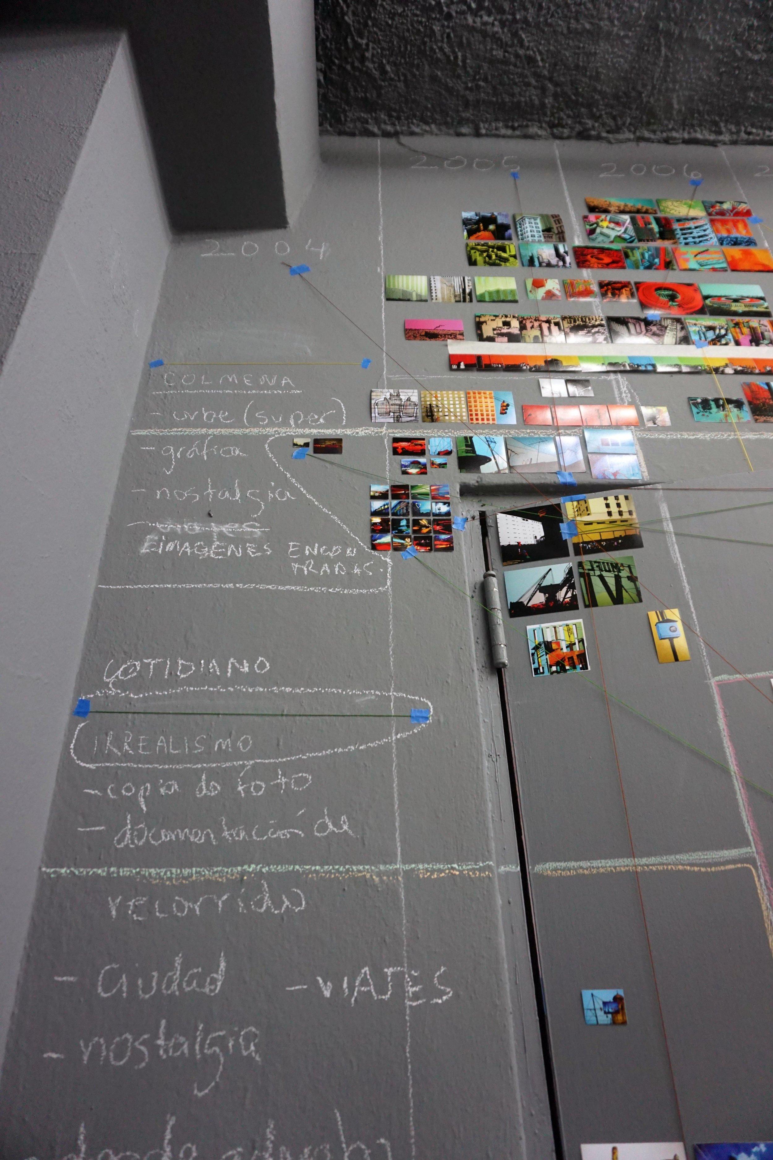Metadata (detalle). serie: Desde adentro, columna 2004