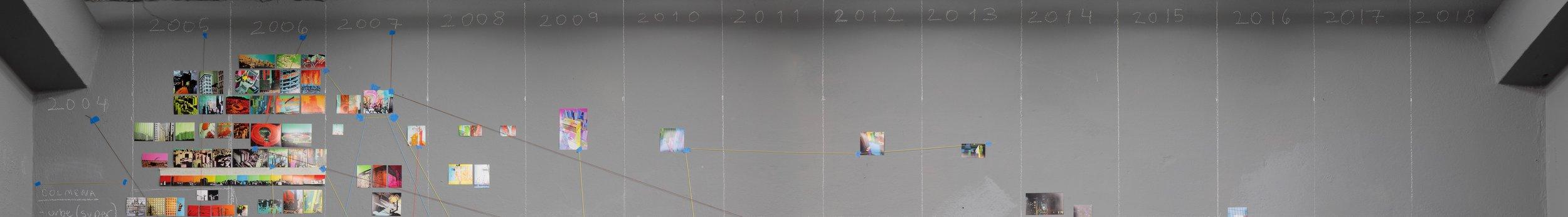 Metadata (detalle). serie: La colmena, columnas: 2004-2018 |imagen original:    roberto d'ambrosio