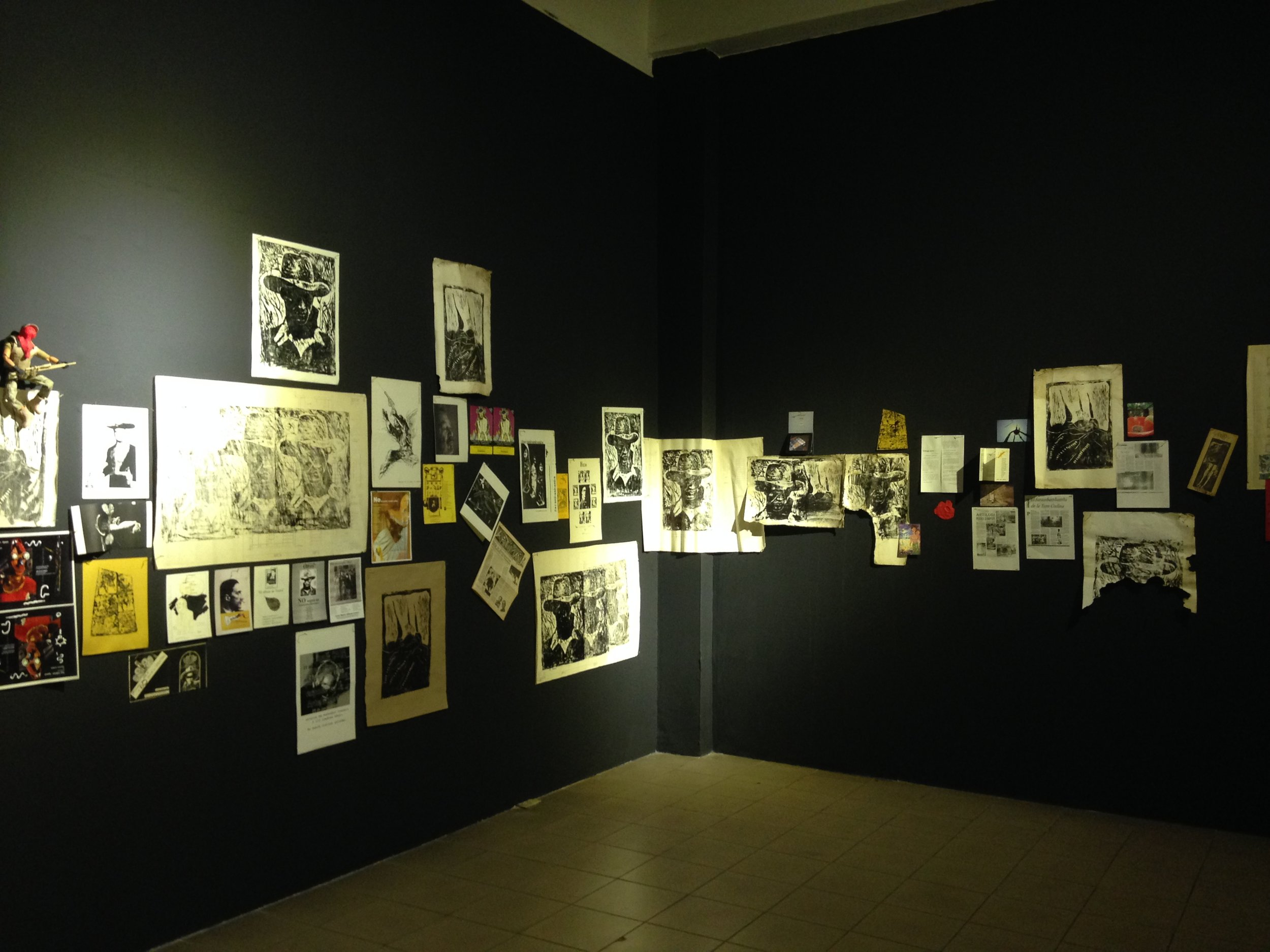 """""""No tiene nombre / Unspeakable. Raúl Quintanilla Armijo + Mácula / SBB"""" Sala 3: """"El archivo de Raúl"""". (2018)."""