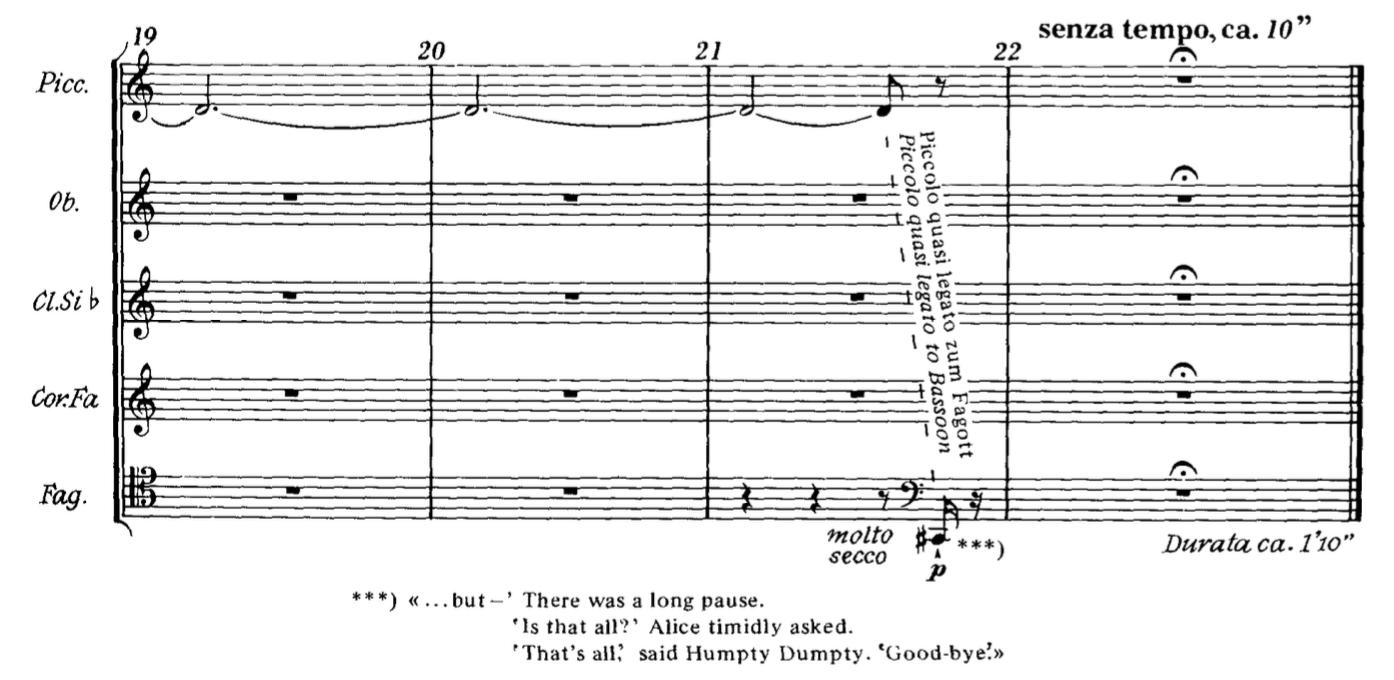 Ligeti, 10 Pieces for Wind Quintet