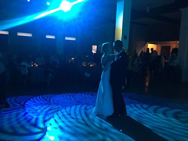 One of the best shots of a father/daughter dance during the wedding season 2019 #wedding #DJ #evansville