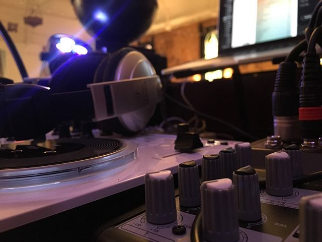 Just getting set up... taking that trendy low angle pic #wedding #DJ #indianapolis buff.ly/2G9tMQW