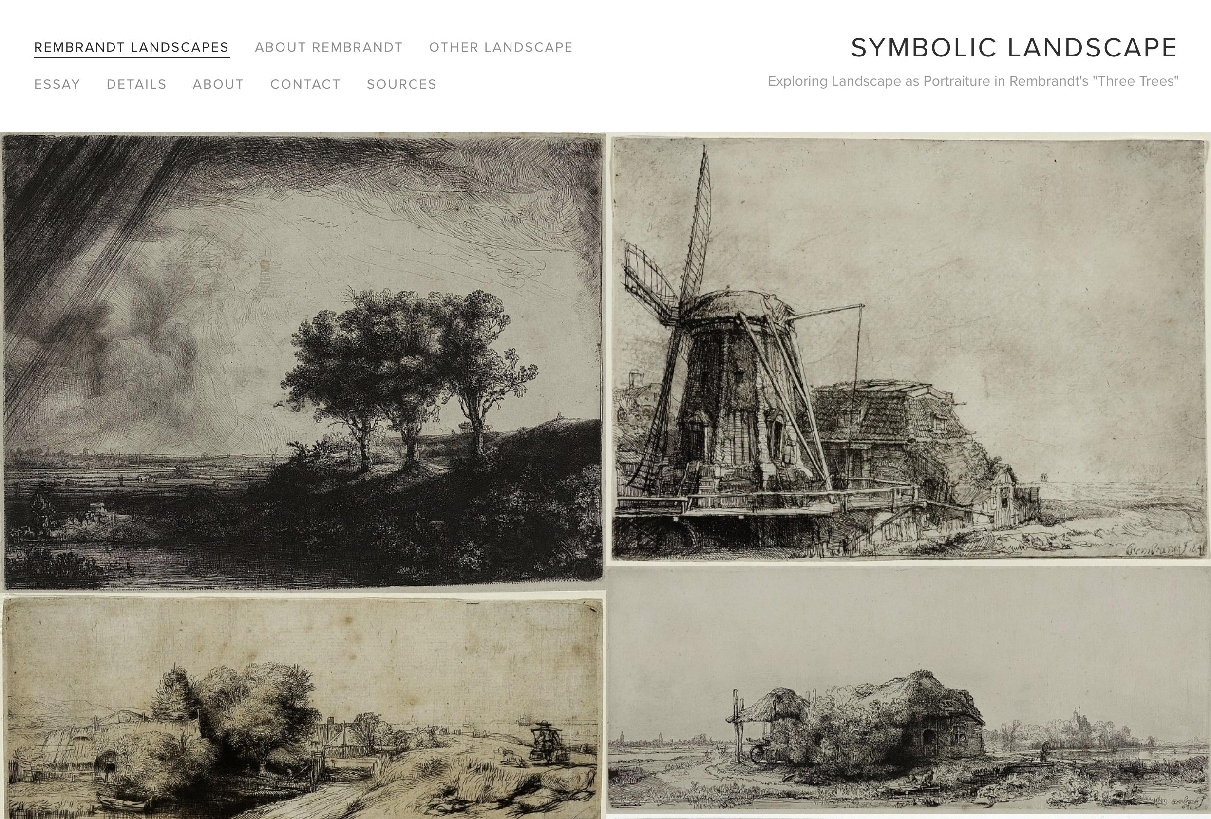 Symbolic Landscape