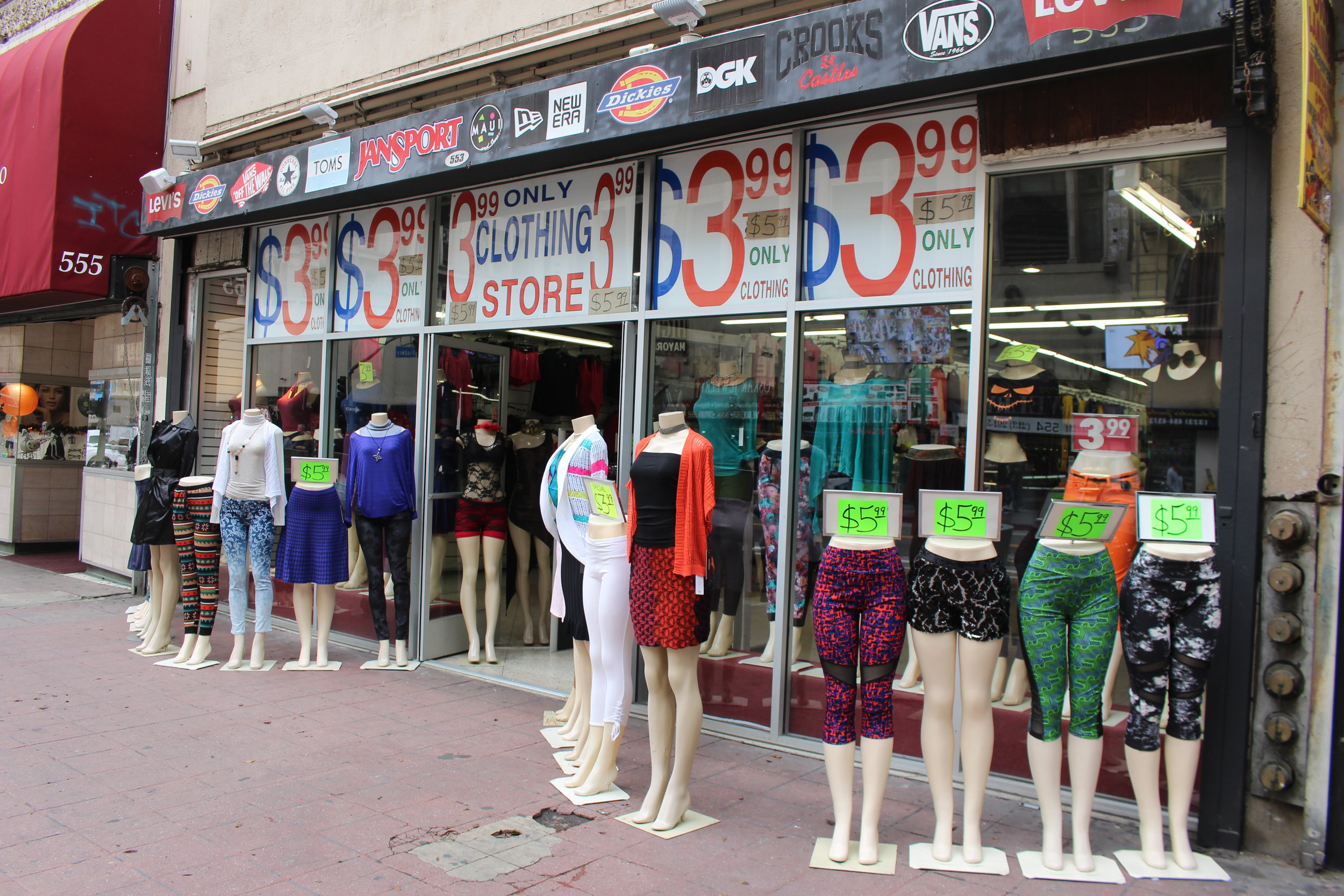 LA fast fashion