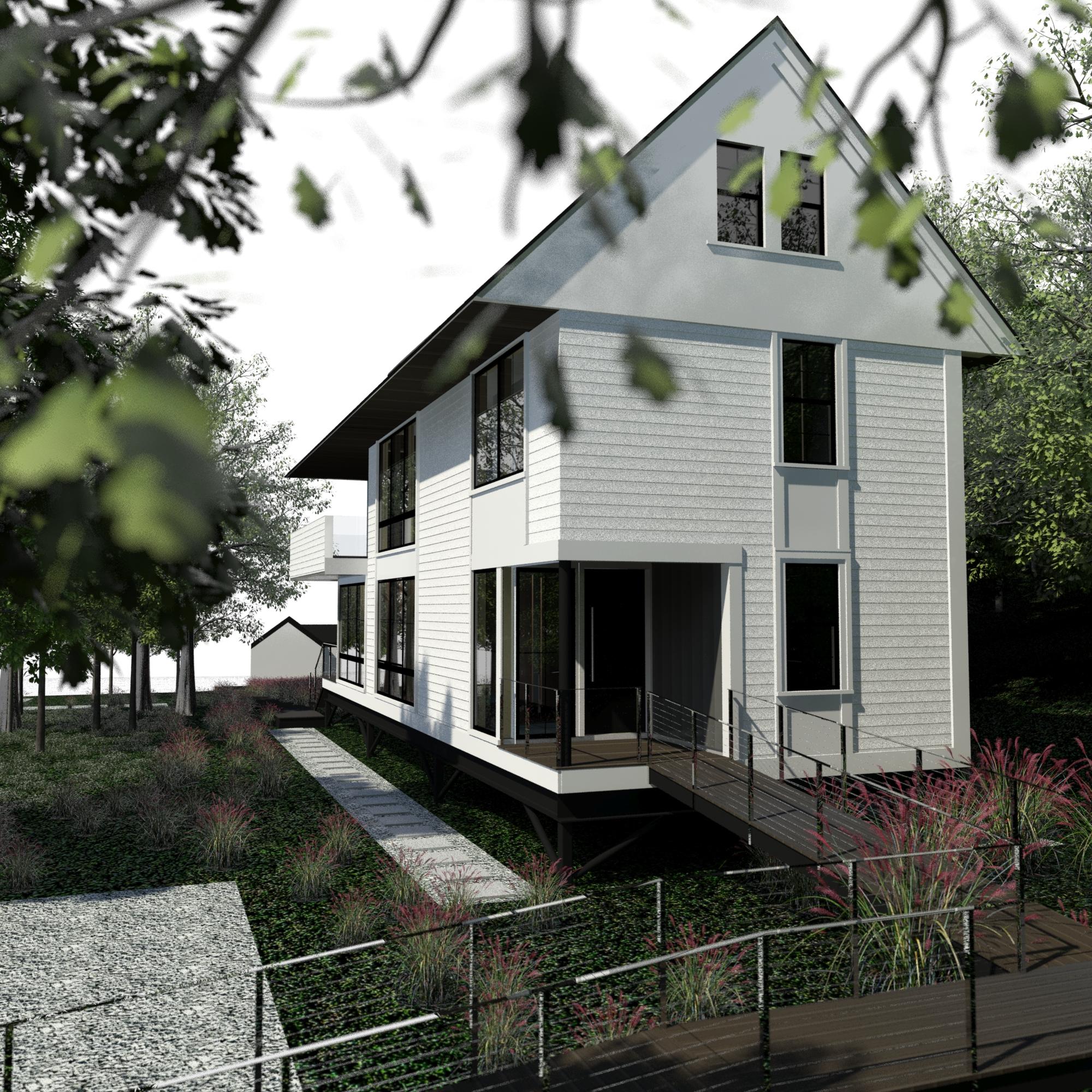 net-zero accessible home