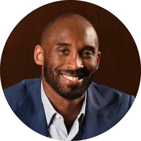 Kobe Bryant   Co-founder & GP, Bryant Stibel