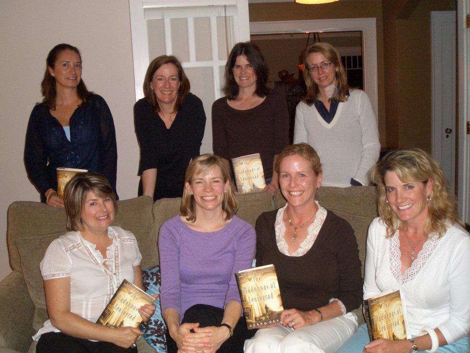 Bookgroup reading The Madonnas of Leningrad