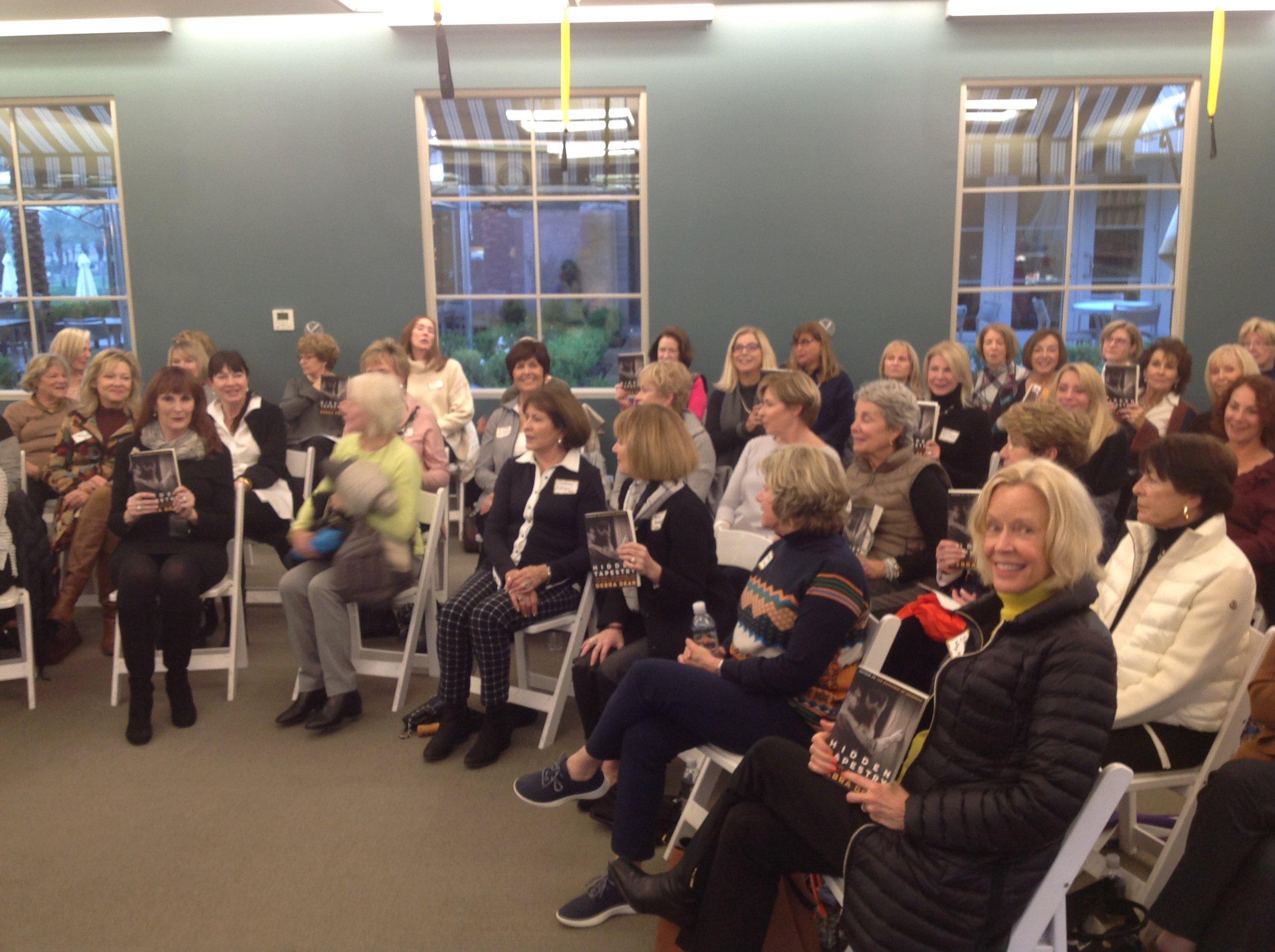 Kathleen Capalbo Toscano Club and Vintage Club Reading Groups.JPG