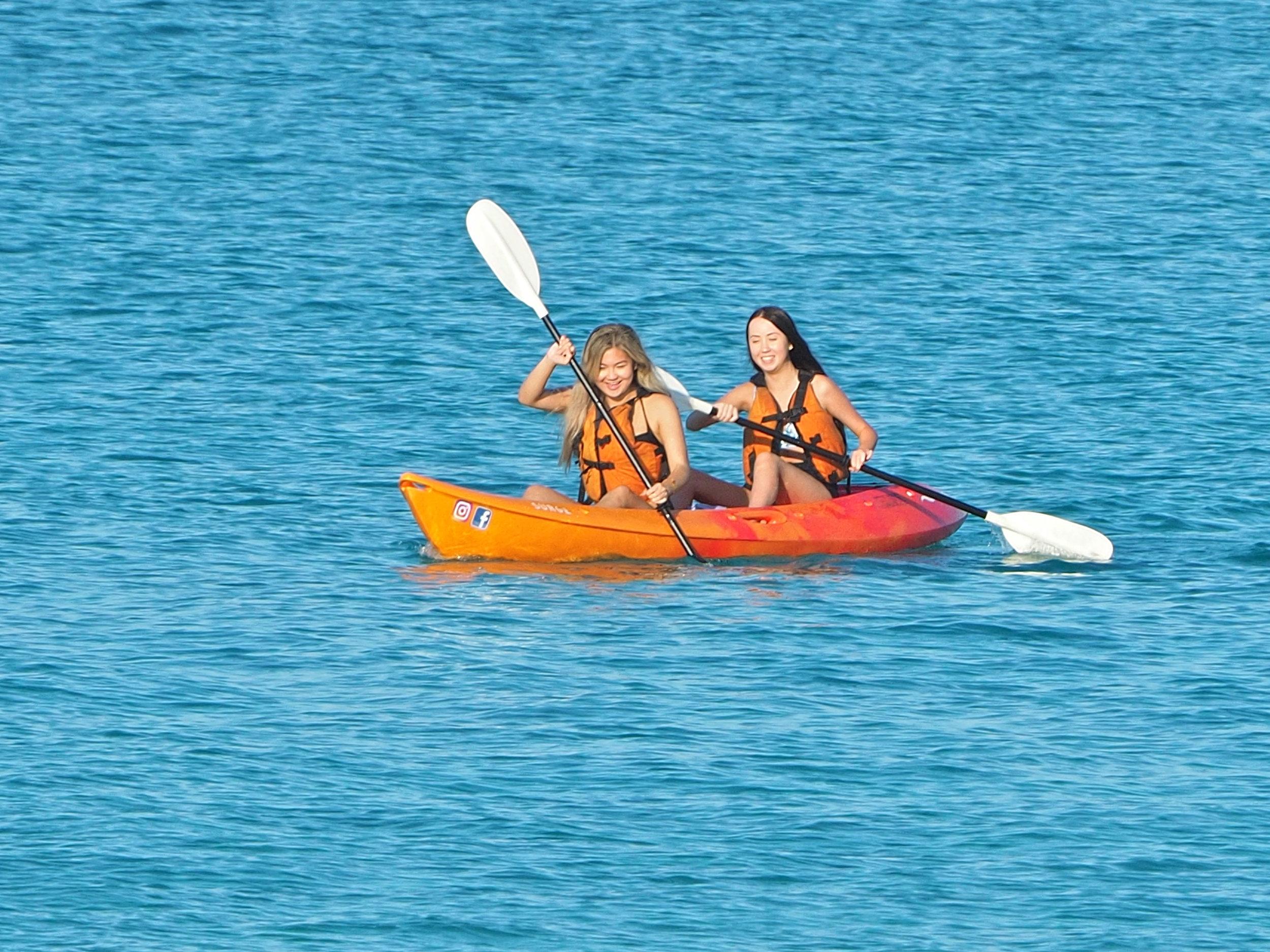 Double Kayak - Twice the fun