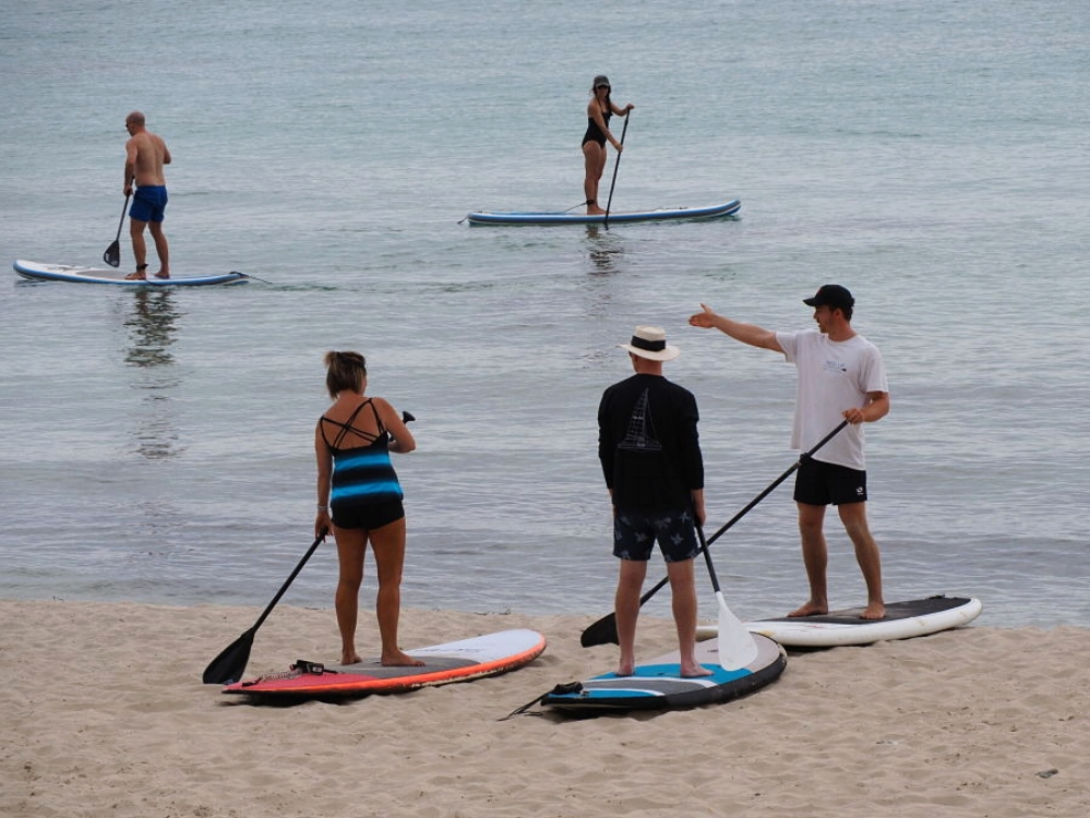 Stand Up Paddle Lessons for two